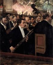 L'orchestre de l'opéra, by Edgar Degas, 1870